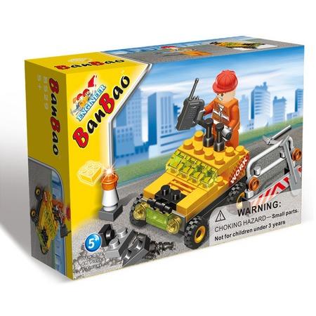 Купить Конструктор Banbao Строительная машинка, 48 деталей