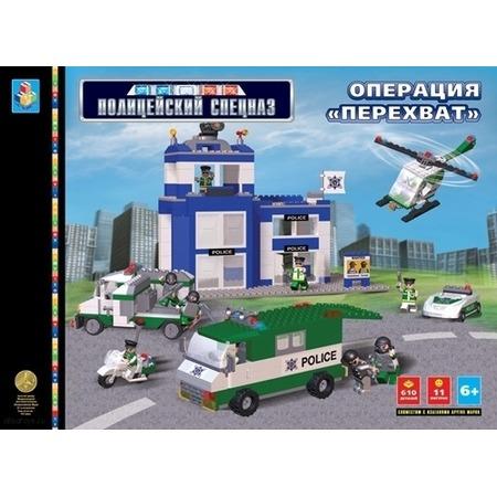 Купить Конструктор 1 TOY Т50702 Полицейский Спецназ - Операция Перехват