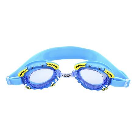 Купить Очки для плавания детские Larsen «Крабик»