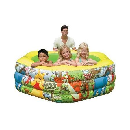 Купить Бассейн надувной с надувным дном Intex «Винни Пух»