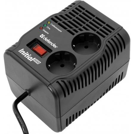 Купить Стабилизатор напряжения DEFENDER AVR Initial 600VA