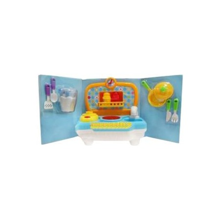Купить Кухня с набором посуды игрушечная Zhorya Х75385
