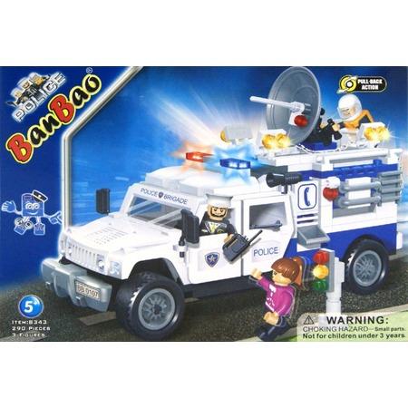 Купить Конструктор Banbao Полицейский грузовик, 290 деталей