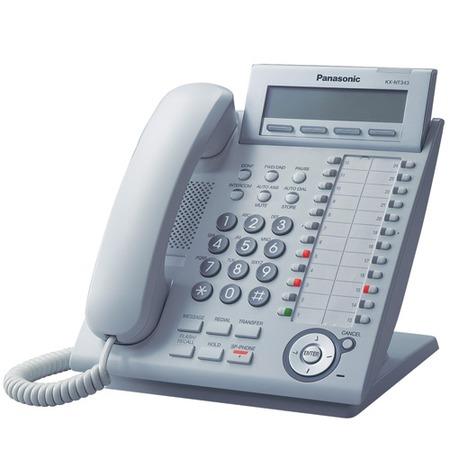 Купить Телефон системный Panasonic KX-NT343RU