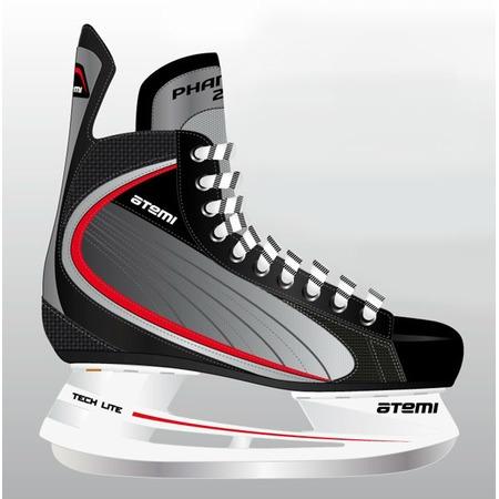 Купить Коньки хоккейные ATEMI PHANTOM 2.0 RED