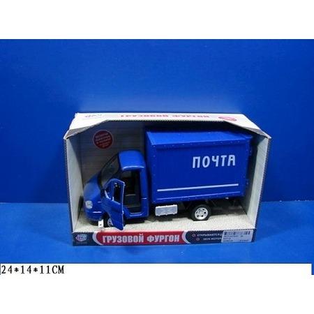 Купить Машина инерционная Joy Toy «Газель фургон Почта» Р40517