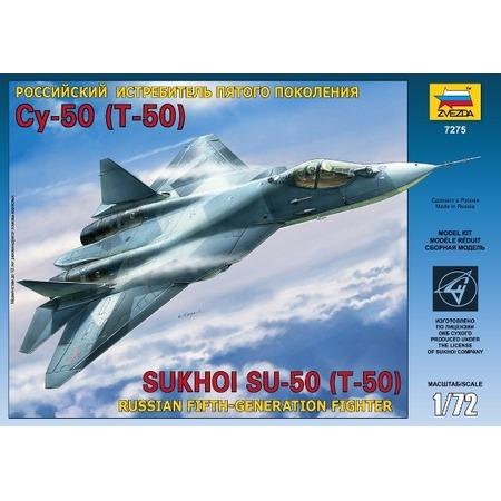 Купить Сборная модель Звезда Самолёт пятого поколения Су-50 (Т-50)