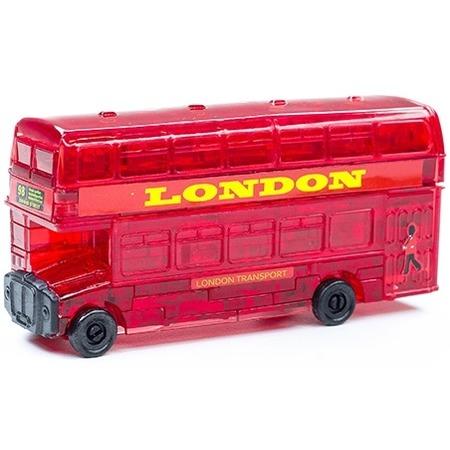 Купить Кристальный пазл 3D Crystal Puzzle «Лондонский автобус»