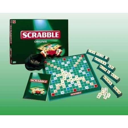 Купить Настольная игра Mattel Scrabble Original. Скрэббл