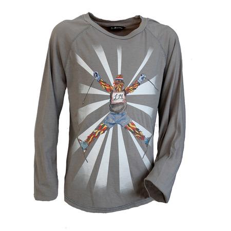 Купить Лонгслив La Miniatura Cotton Jersey Tees Garment Dyed