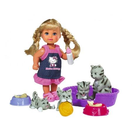 Купить Кукла Еви с животными Simba Hello Kitty