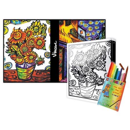 Купить Папка-раскраска Color Velvet «Ван Гог»