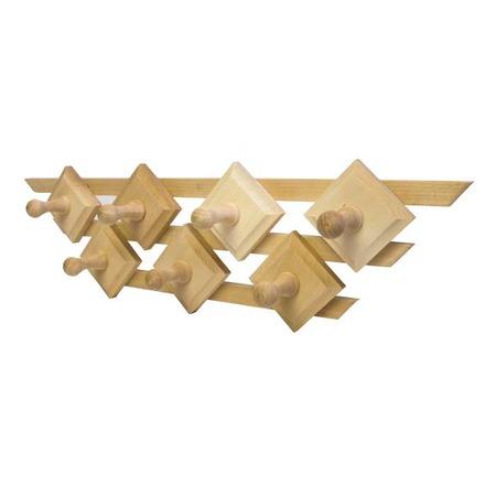 Купить Вешалка для бани Банные штучки «Трапеция. 7 крючков»