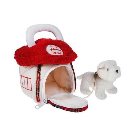 Купить Мягкая игрушка Gulliver Домик-сумка с собачкой