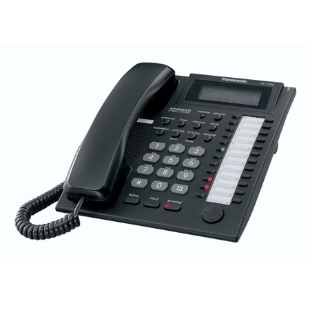 Купить Системный телефон Panasonic KX-T7735RU-B