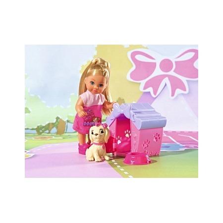 Купить Кукла с аксессуарами Simba «Еви с собачкой в домике»