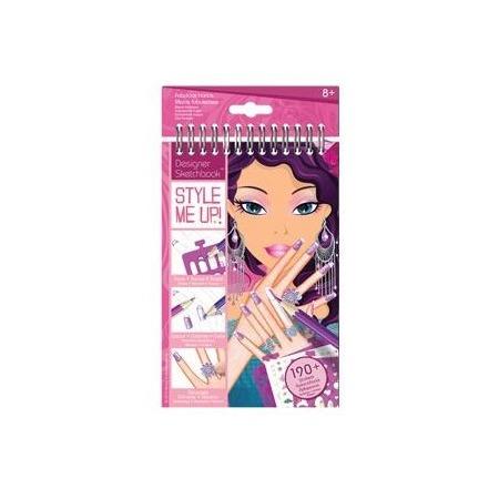 Купить Блокнот с трафаретами Style me up! «Потрясающие ручки»
