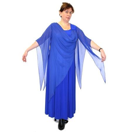 Купить Платье Klimini Волна. Цвет: синий