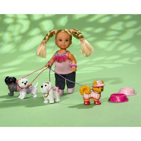 Купить Кукла еви Simba с собаками