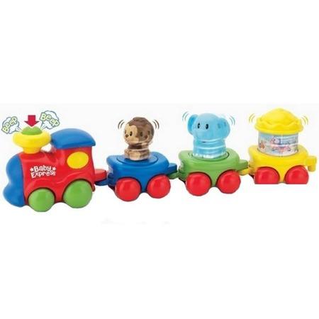 Купить Музыкальная игрушка Keenway «Паровоз с вагончиками»