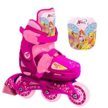 Купить Роликовые коньки детские раздвижные Next WINX HRD