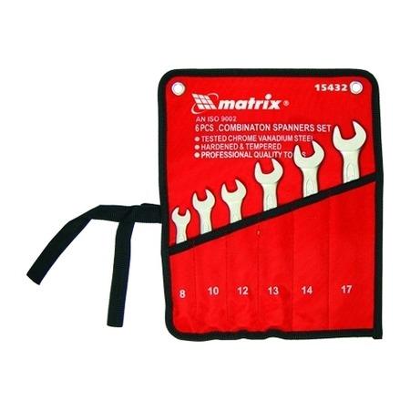 Купить Набор ключей комбинированных MATRIX полированный хром, 9 шт.