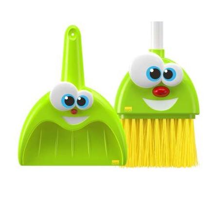 Купить Набор для уборки детский 1 Toy «Веселая метёлка и совок»