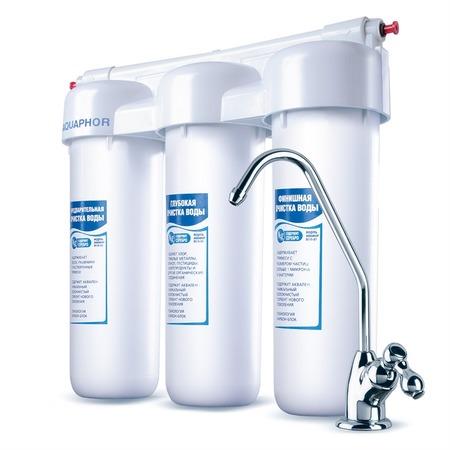 Купить Водоочиститель Аквафор ТРИО Fe. Очистка от ржавчины