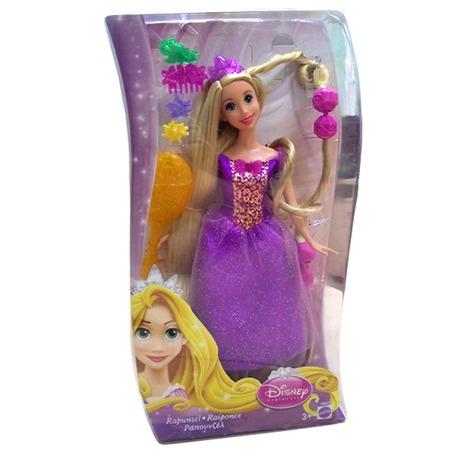 Купить Кукла Mattel Принцесса Рапунцель с аксессуарами