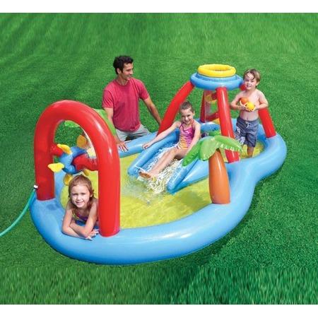 Купить Надувной игровой центр Intex «Мельница» 57449