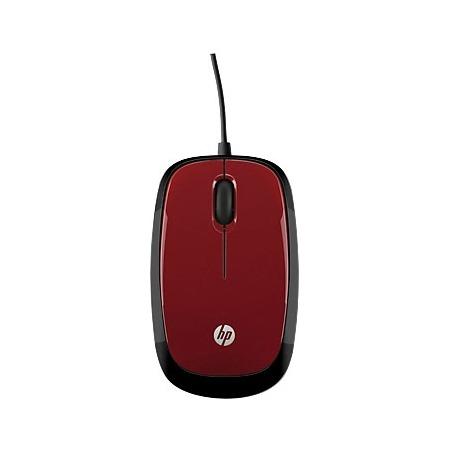 Купить Мышь HP H6F01AA X1200 Wired Red