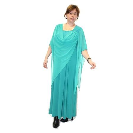 Купить Платье Klimini Волна. Цвет: бирюзовый