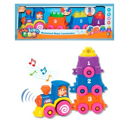 Купить Музыкальная игрушка Keenway «Музыкальный паровоз»