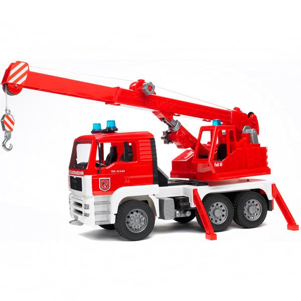 фото Пожарная машина-автокран Bruder Man 02-770