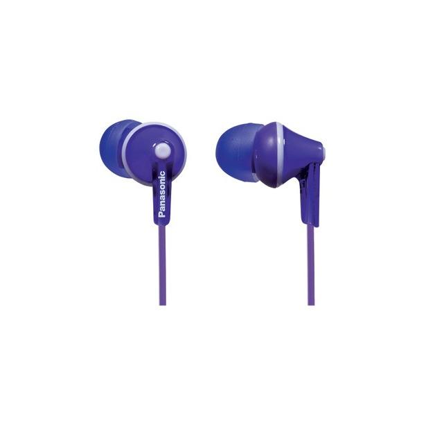 фото Наушники вставные Panasonic RP-TCM125E. Цвет: фиолетовый