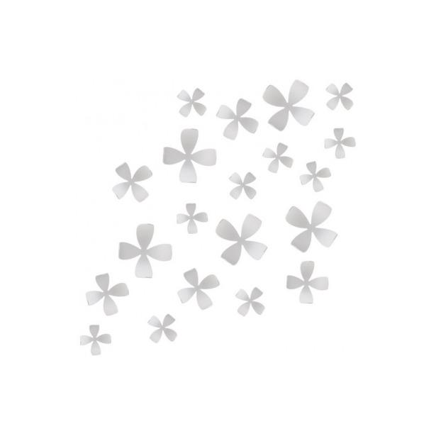 фото Декор для стен Umbra Wallflower. Цвет: белый