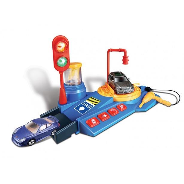 фото Игровой набор Bburago Мойка машин
