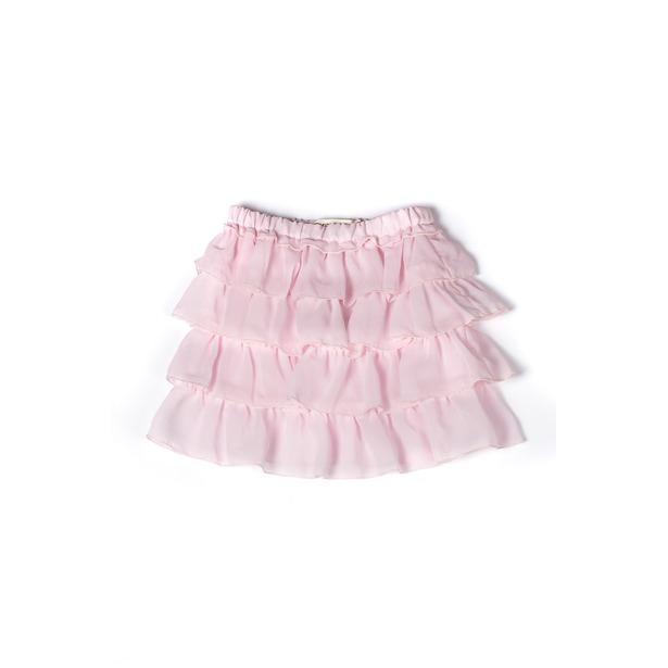 фото Юбка детская Appaman Ruffle Skirt. Цвет: розовый