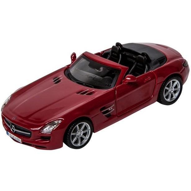 фото Модель автомобиля 1:32 Bburago Mercedes-Benz SLS AMG Cabrio. В ассортименте