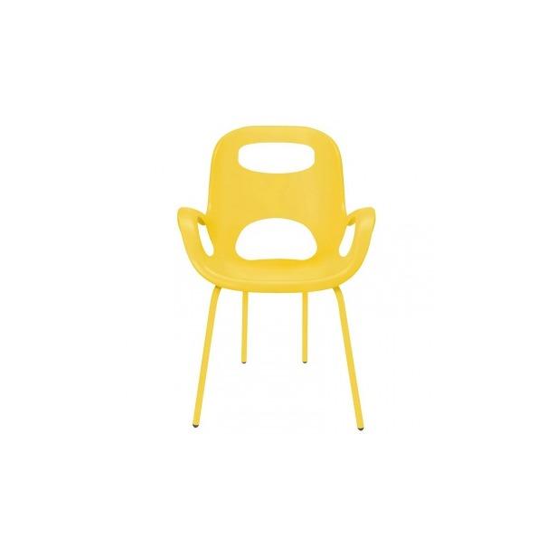 фото Стул дизайнерский Umbra Oh Chair. Цвет: желтый