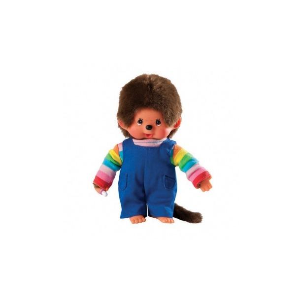 фото Мягкая игрушка Sekiguchi Мальчик в разноцветной рубашке