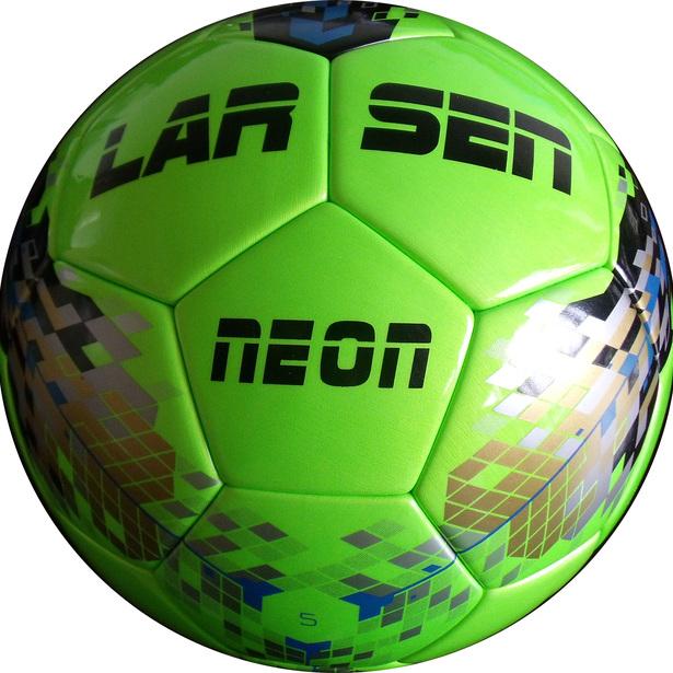 фото Мяч футбольный Larsen Neon