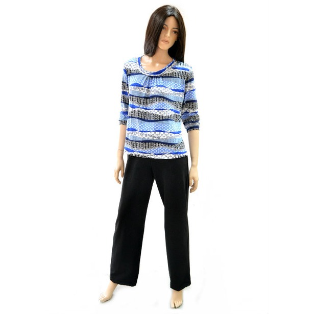 фото Комплект блуза и брюки Матекс Мальвина. Размер одежды: 44