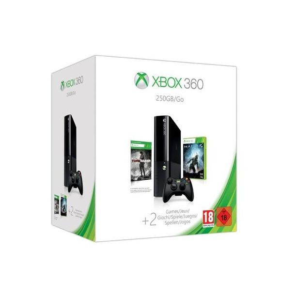 фото Консоль игровая Microsoft Xbox 360 Stingray 250 Gb и игры Halo 4/Tomb Raider