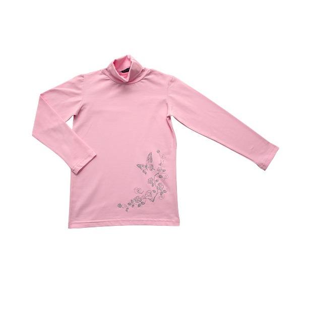 фото Водолазка для девочек JOTA «Нежность». Цвет: розовый