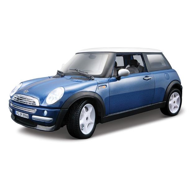 фото Модель автомобиля 1:24 Bburago Mini Cooper. В ассортименте