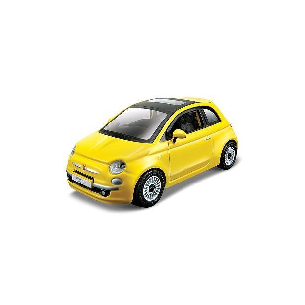фото Сборная модель автомобиля 1:32 Bburago New Fiat 500