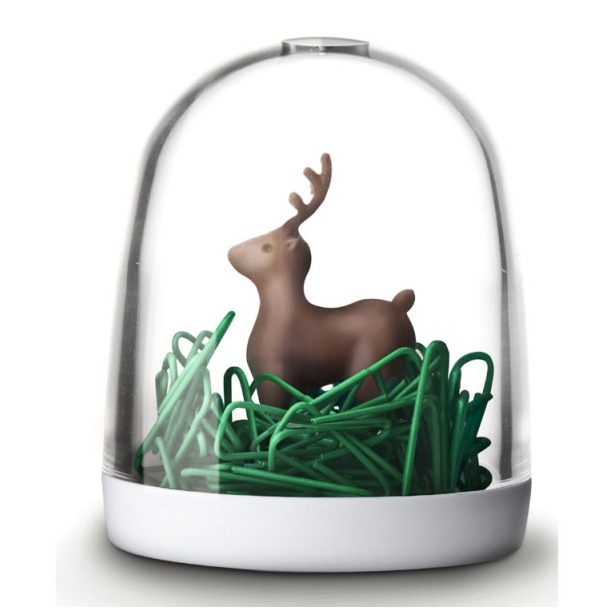 фото Держатель для скрепок Qualy Deer in the forest