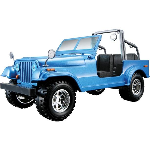 фото Модель автомобиля 1:24 Bburago Jeep Wrangler