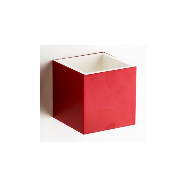 фото Бокс многофункциональный Qualy Pixel. Цвет: красный